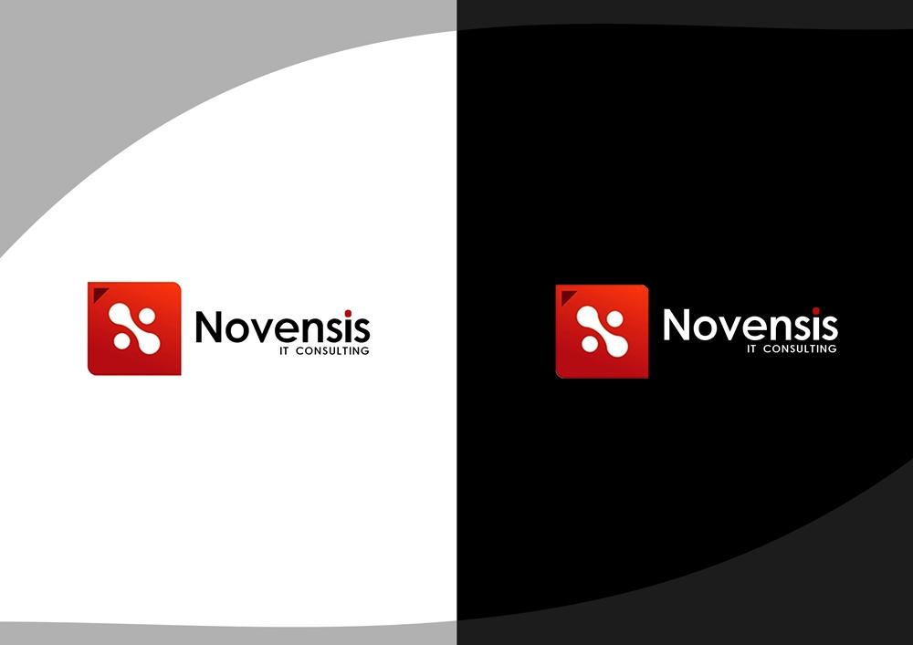 Logo Design by Fita Tiara Sani - Entry No. 11 in the Logo Design Contest Novensis Logo Design.