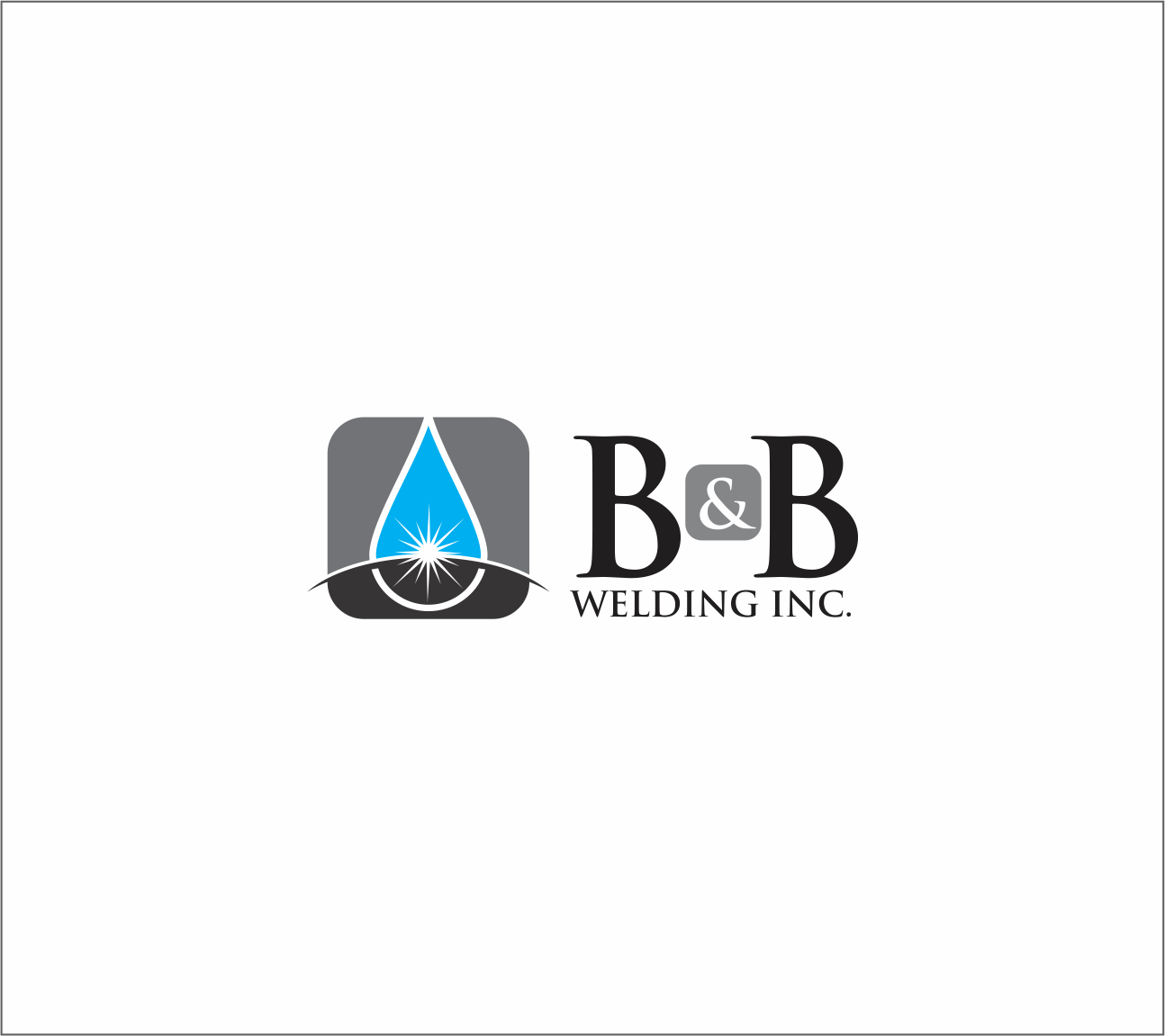 Logo Design by Armada Jamaluddin - Entry No. 30 in the Logo Design Contest Fun Logo Design for B&B Welding Inc..