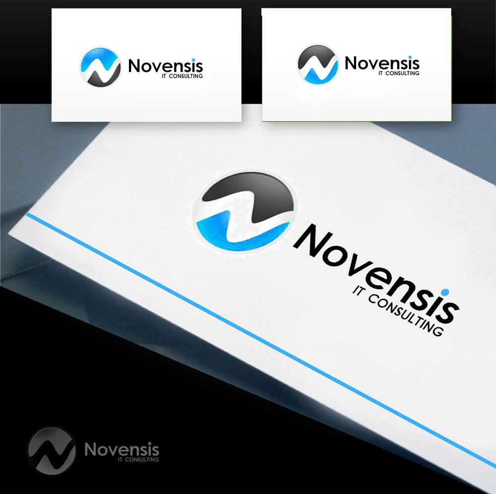 Logo Design by Fita Tiara Sani - Entry No. 13 in the Logo Design Contest Novensis Logo Design.