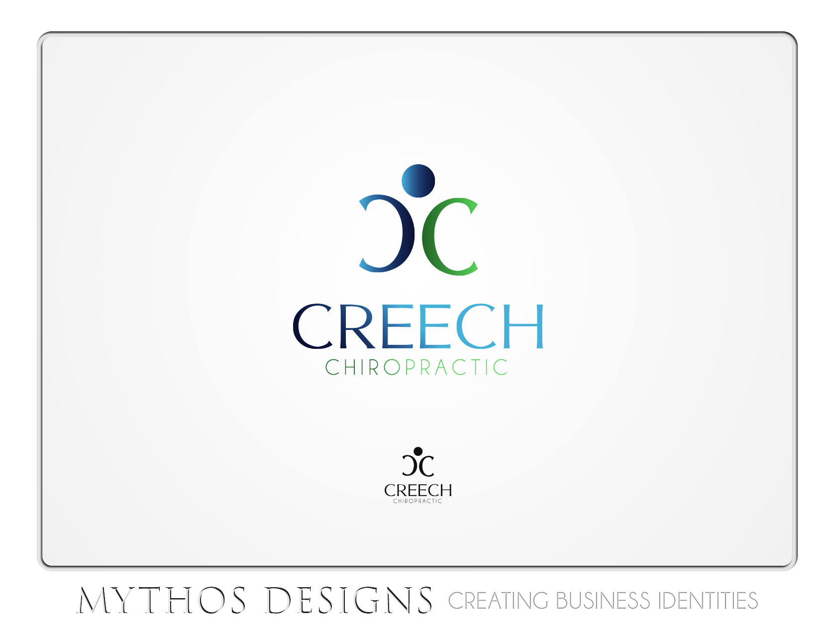 Logo Design by Mythos Designs - Entry No. 82 in the Logo Design Contest Imaginative Logo Design for Creech Chiropractic.