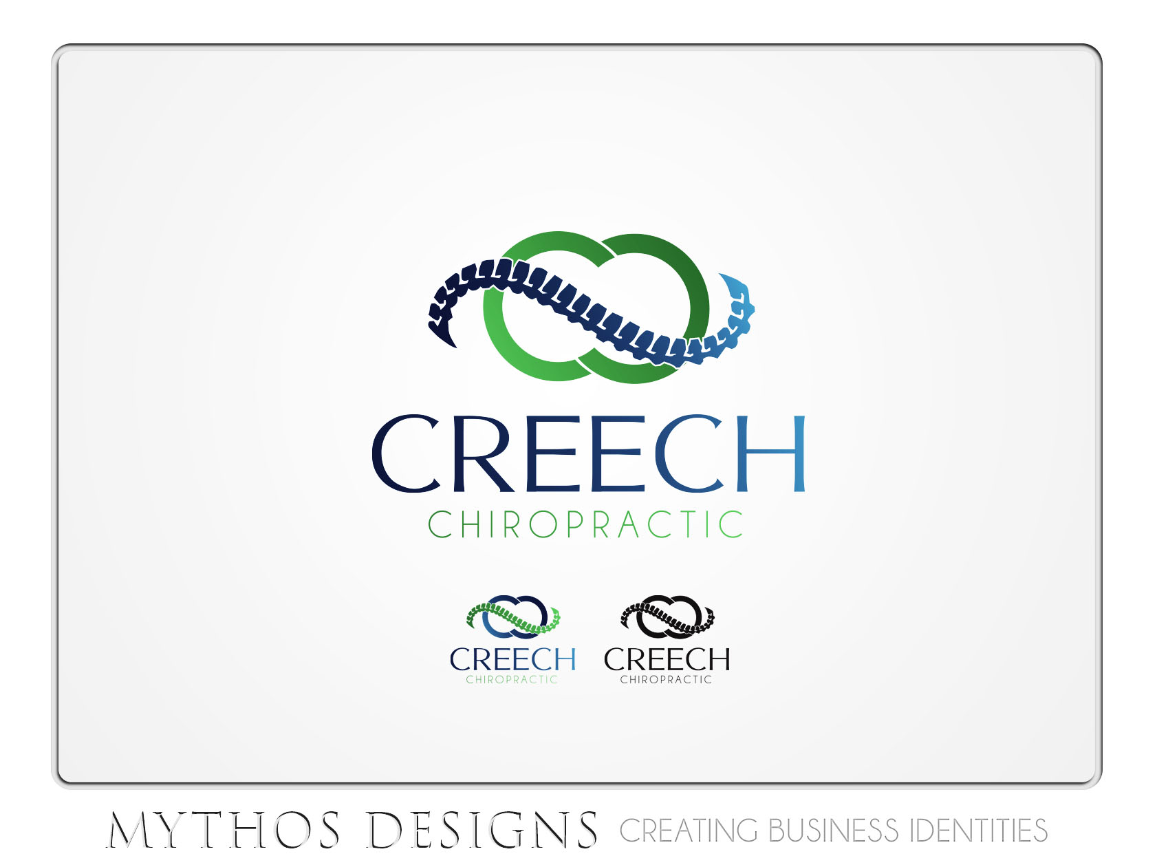 Logo Design by Mythos Designs - Entry No. 85 in the Logo Design Contest Imaginative Logo Design for Creech Chiropractic.