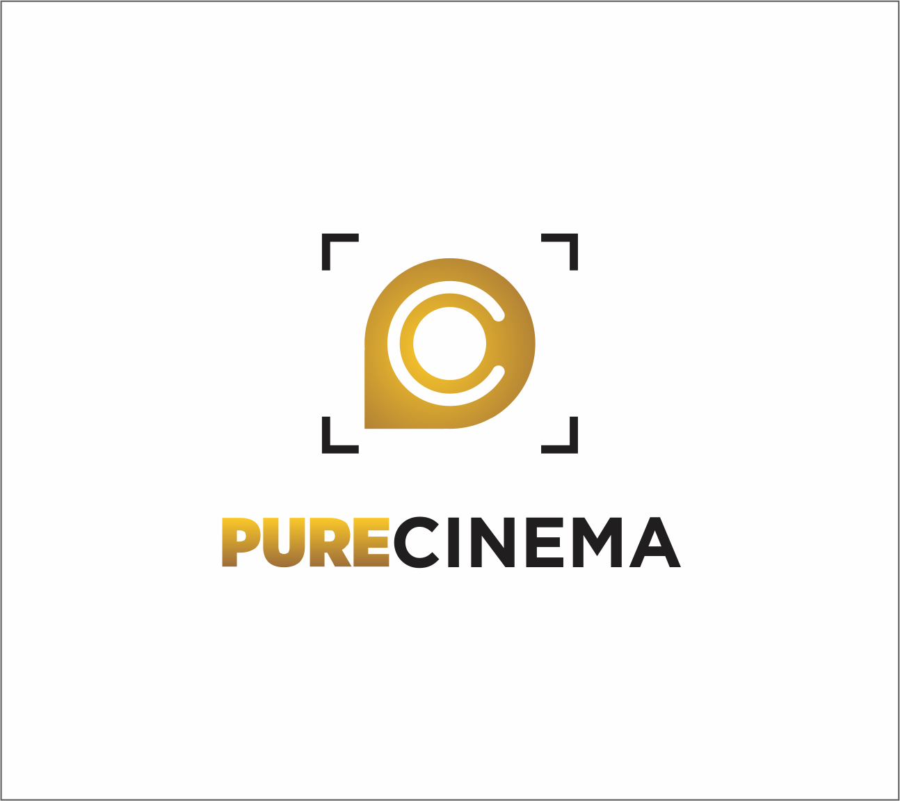 Logo Design by Armada Jamaluddin - Entry No. 96 in the Logo Design Contest Imaginative Logo Design for Pure Cinema.