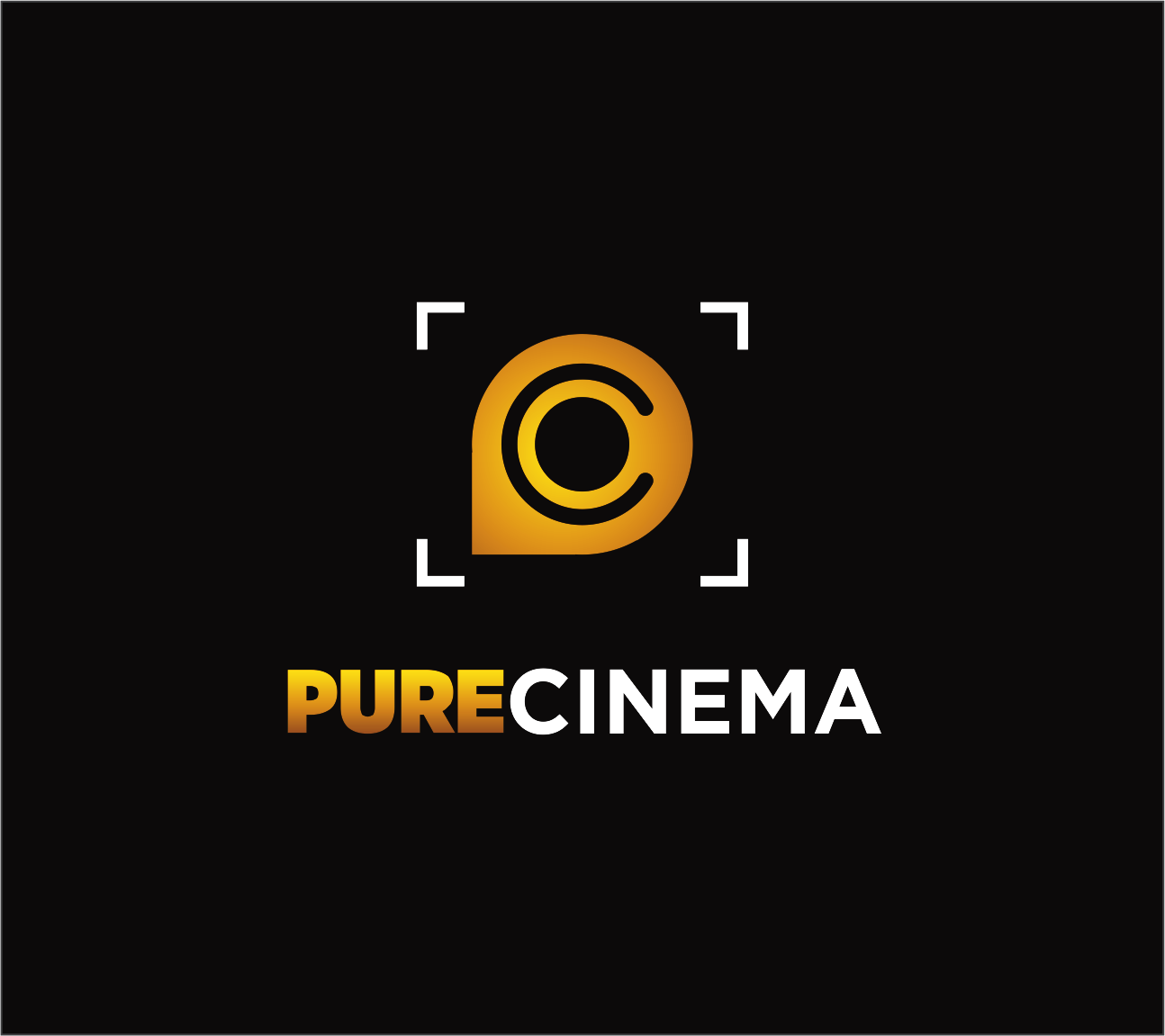 Logo Design by Armada Jamaluddin - Entry No. 97 in the Logo Design Contest Imaginative Logo Design for Pure Cinema.