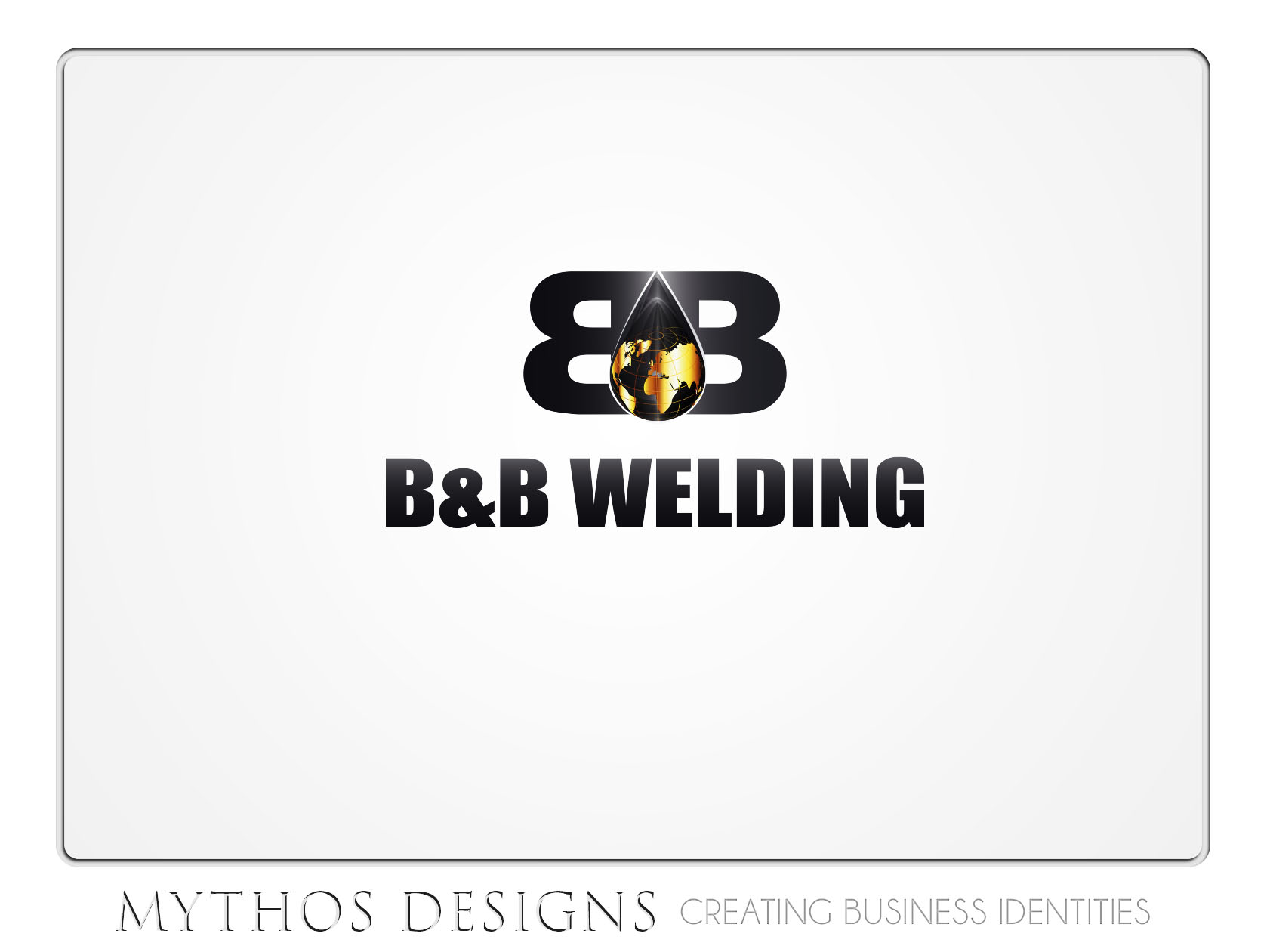 Logo Design by Mythos Designs - Entry No. 34 in the Logo Design Contest Fun Logo Design for B&B Welding Inc..