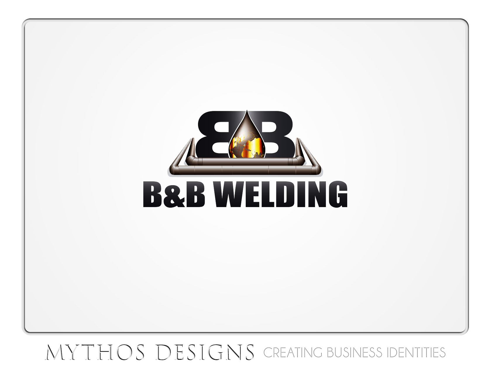 Logo Design by Mythos Designs - Entry No. 35 in the Logo Design Contest Fun Logo Design for B&B Welding Inc..