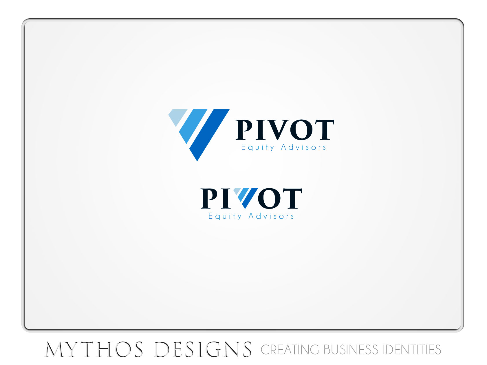 Logo Design by Mythos Designs - Entry No. 36 in the Logo Design Contest Unique Logo Design Wanted for Pivot Equity Advisors.
