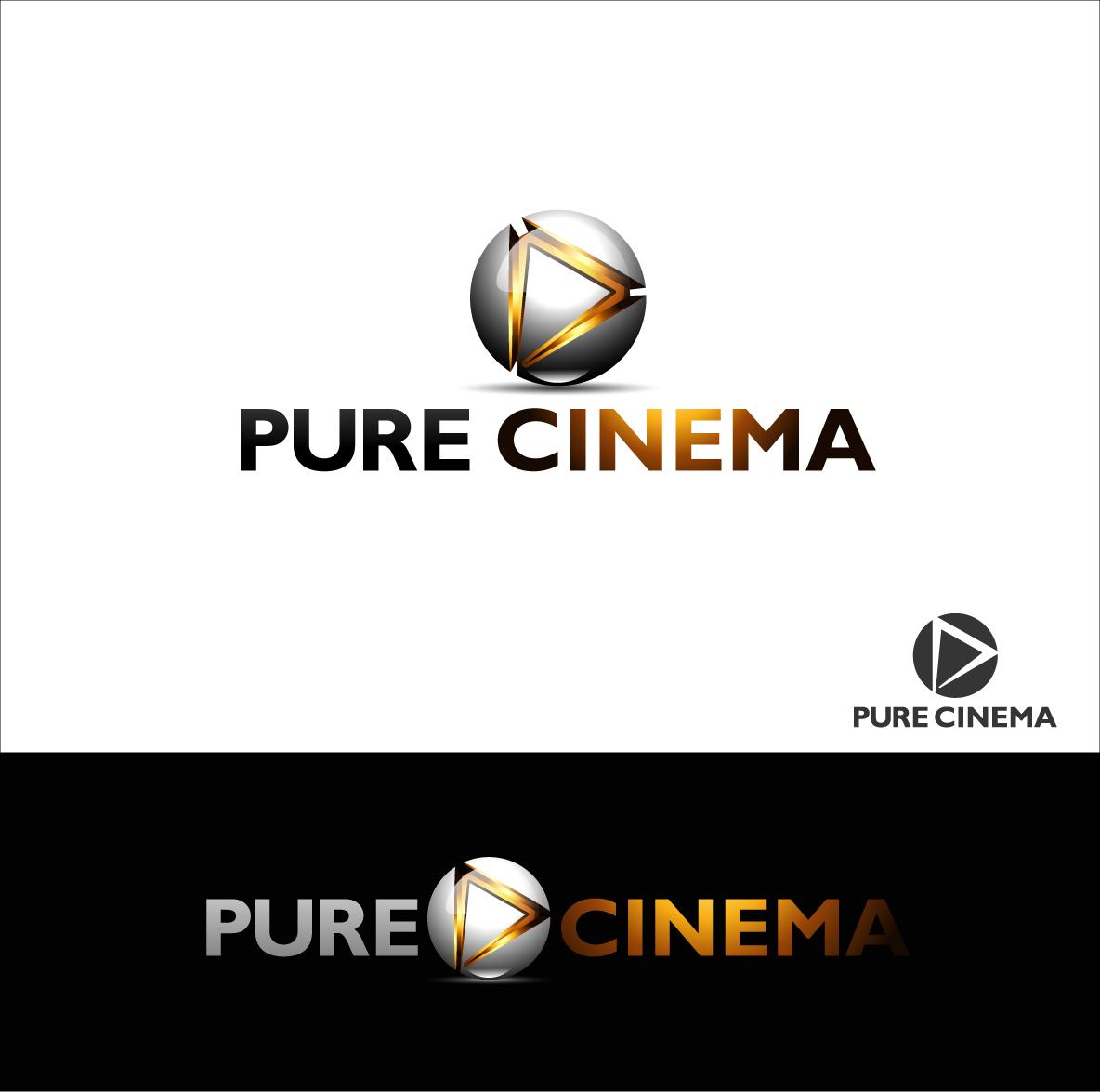 Logo Design by zoiDesign - Entry No. 101 in the Logo Design Contest Imaginative Logo Design for Pure Cinema.