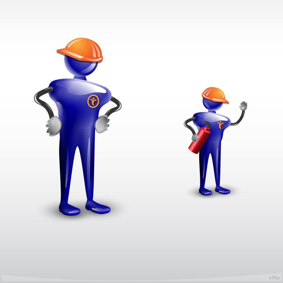 Logo Design by eMp - Entry No. 79 in the Logo Design Contest Character for E-Learning Courses.