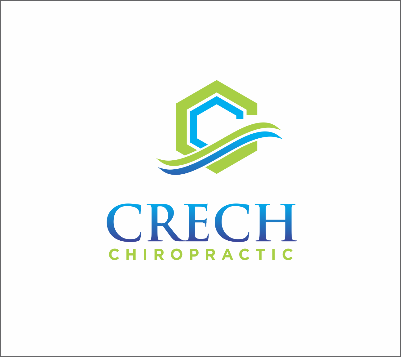 Logo Design by Armada Jamaluddin - Entry No. 89 in the Logo Design Contest Imaginative Logo Design for Creech Chiropractic.