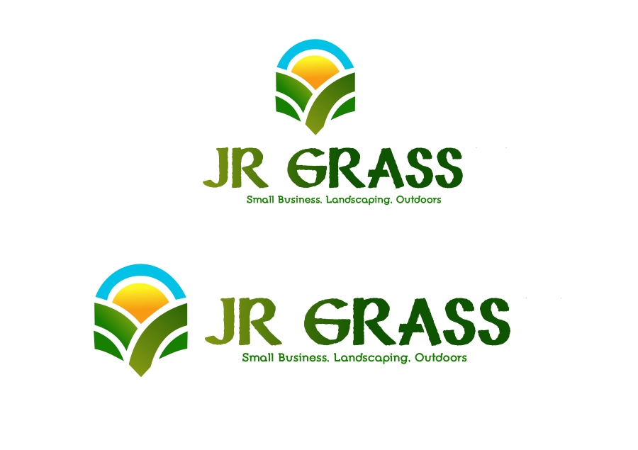 Logo Design by Private User - Entry No. 8 in the Logo Design Contest Inspiring Logo Design for JR Grass.