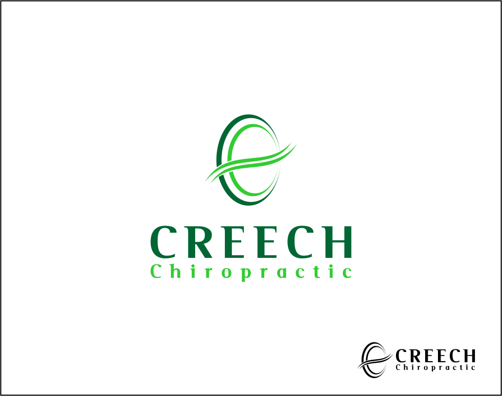 Logo Design by Agus Martoyo - Entry No. 91 in the Logo Design Contest Imaginative Logo Design for Creech Chiropractic.
