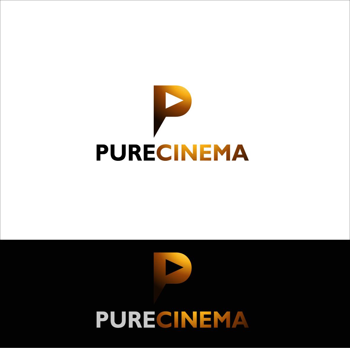 Logo Design by zoiDesign - Entry No. 108 in the Logo Design Contest Imaginative Logo Design for Pure Cinema.