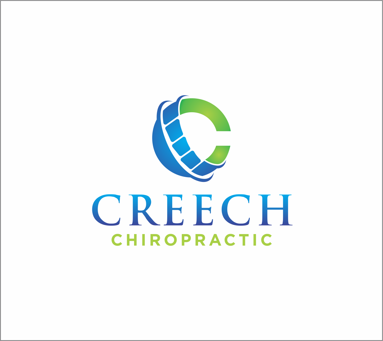 Logo Design by Armada Jamaluddin - Entry No. 92 in the Logo Design Contest Imaginative Logo Design for Creech Chiropractic.