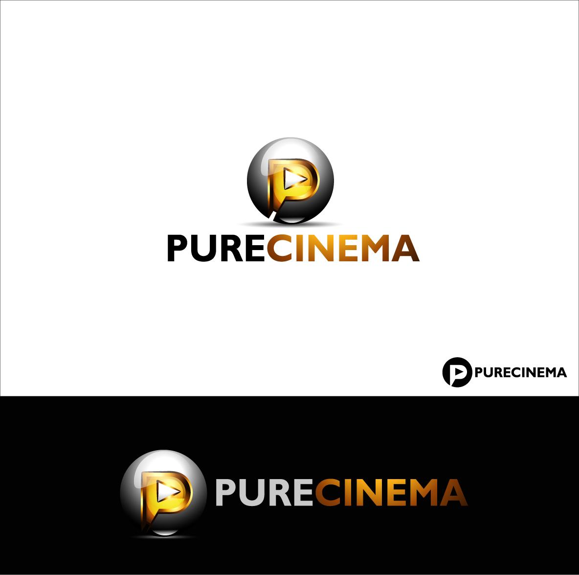 Logo Design by zoiDesign - Entry No. 109 in the Logo Design Contest Imaginative Logo Design for Pure Cinema.