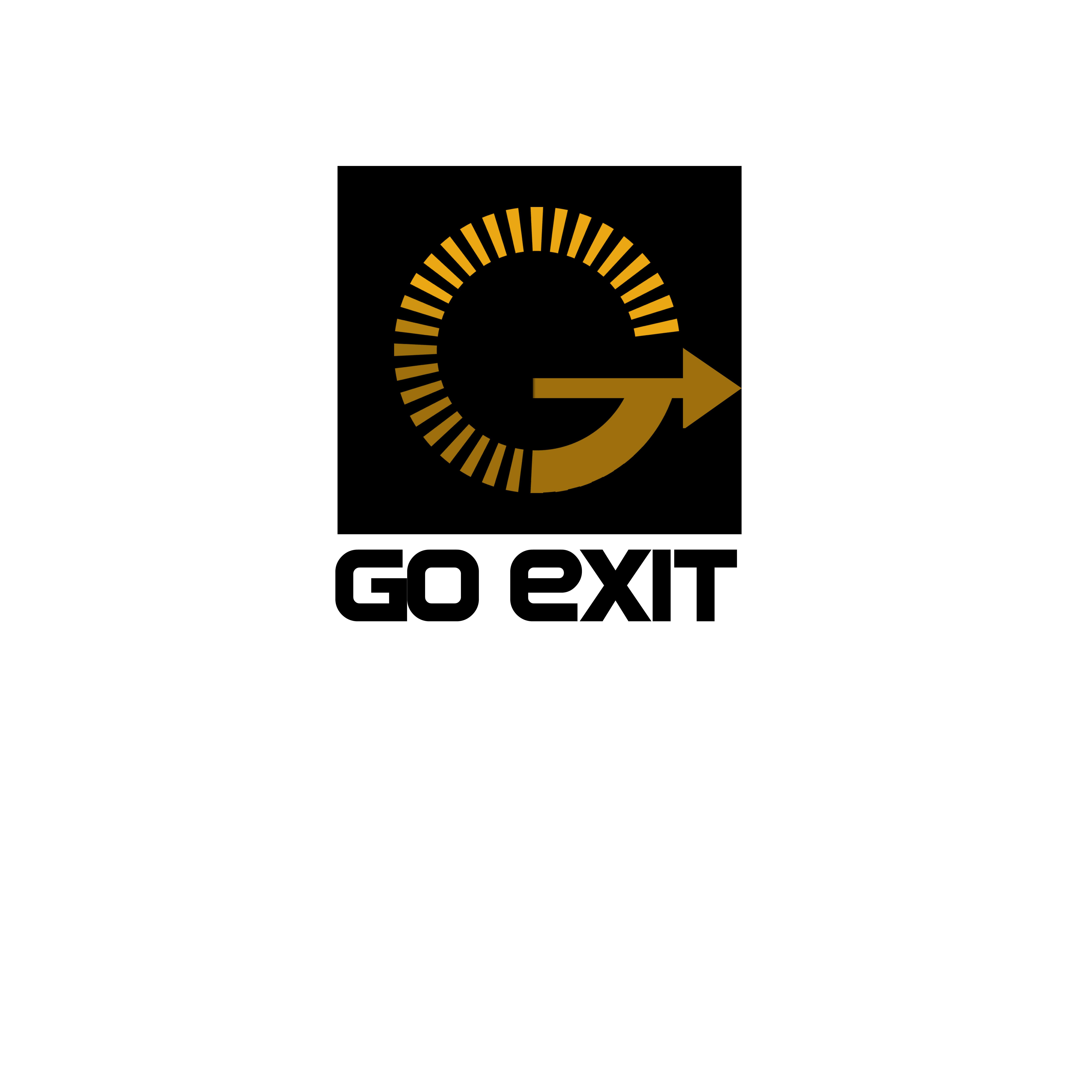 Logo Design by Allan Esclamado - Entry No. 137 in the Logo Design Contest GoExit Logo Design.