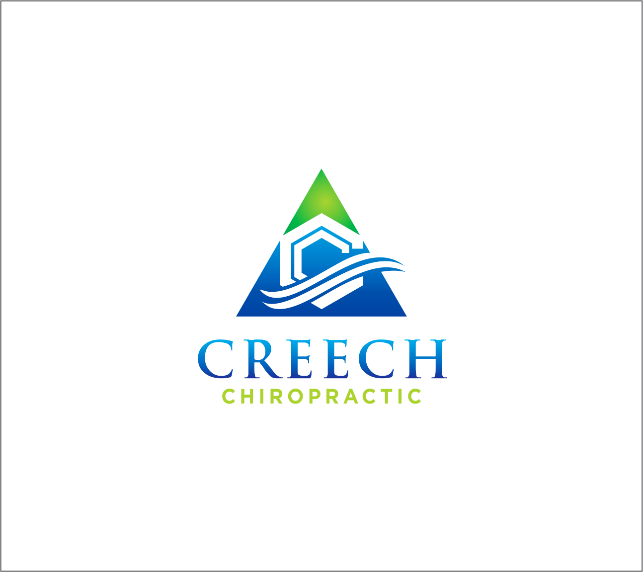 Logo Design by Armada Jamaluddin - Entry No. 93 in the Logo Design Contest Imaginative Logo Design for Creech Chiropractic.