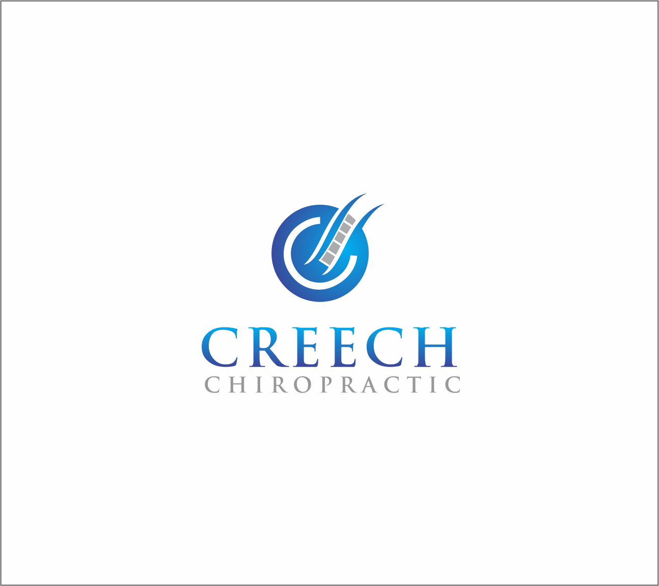 Logo Design by Armada Jamaluddin - Entry No. 94 in the Logo Design Contest Imaginative Logo Design for Creech Chiropractic.