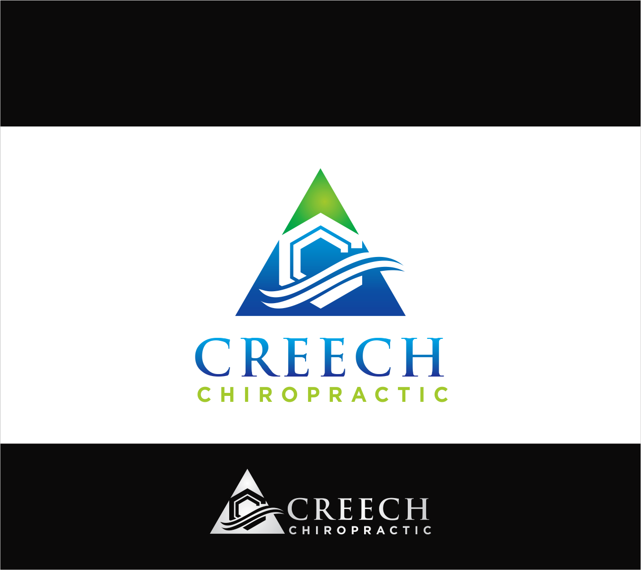 Logo Design by Armada Jamaluddin - Entry No. 97 in the Logo Design Contest Imaginative Logo Design for Creech Chiropractic.
