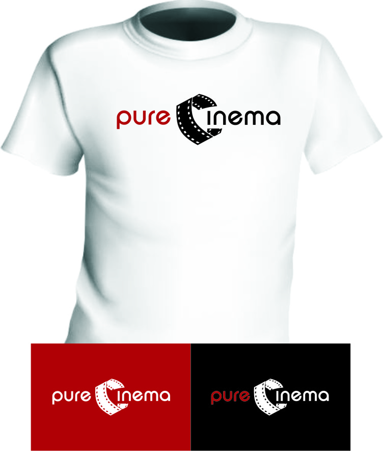 Logo Design by Ngepet_art - Entry No. 117 in the Logo Design Contest Imaginative Logo Design for Pure Cinema.