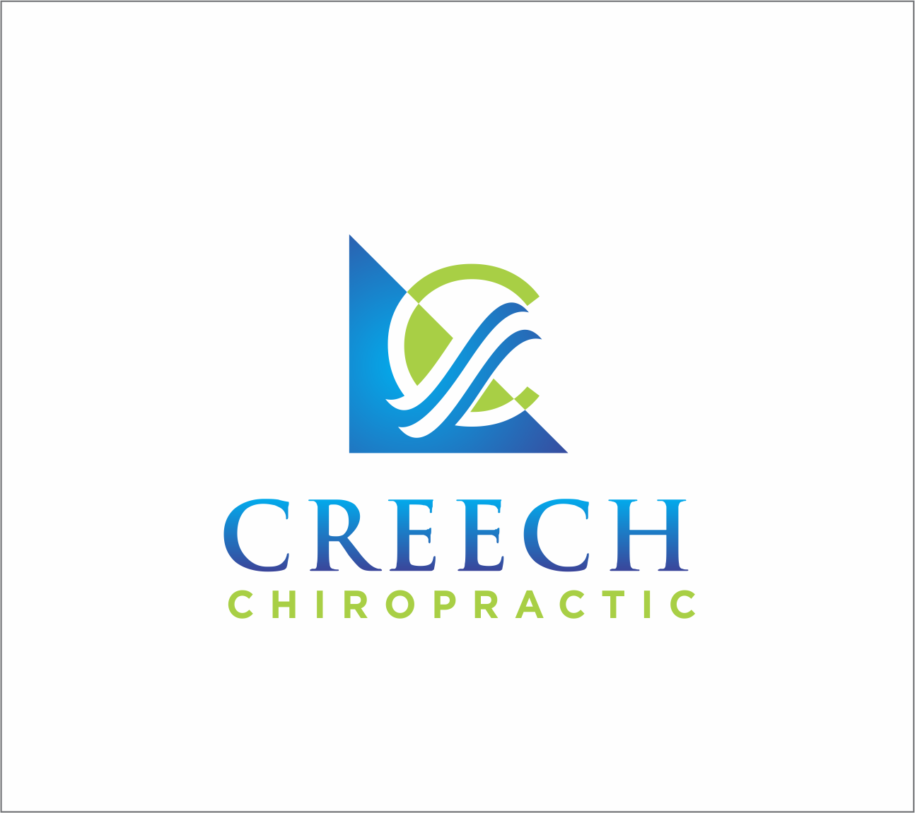 Logo Design by Armada Jamaluddin - Entry No. 99 in the Logo Design Contest Imaginative Logo Design for Creech Chiropractic.