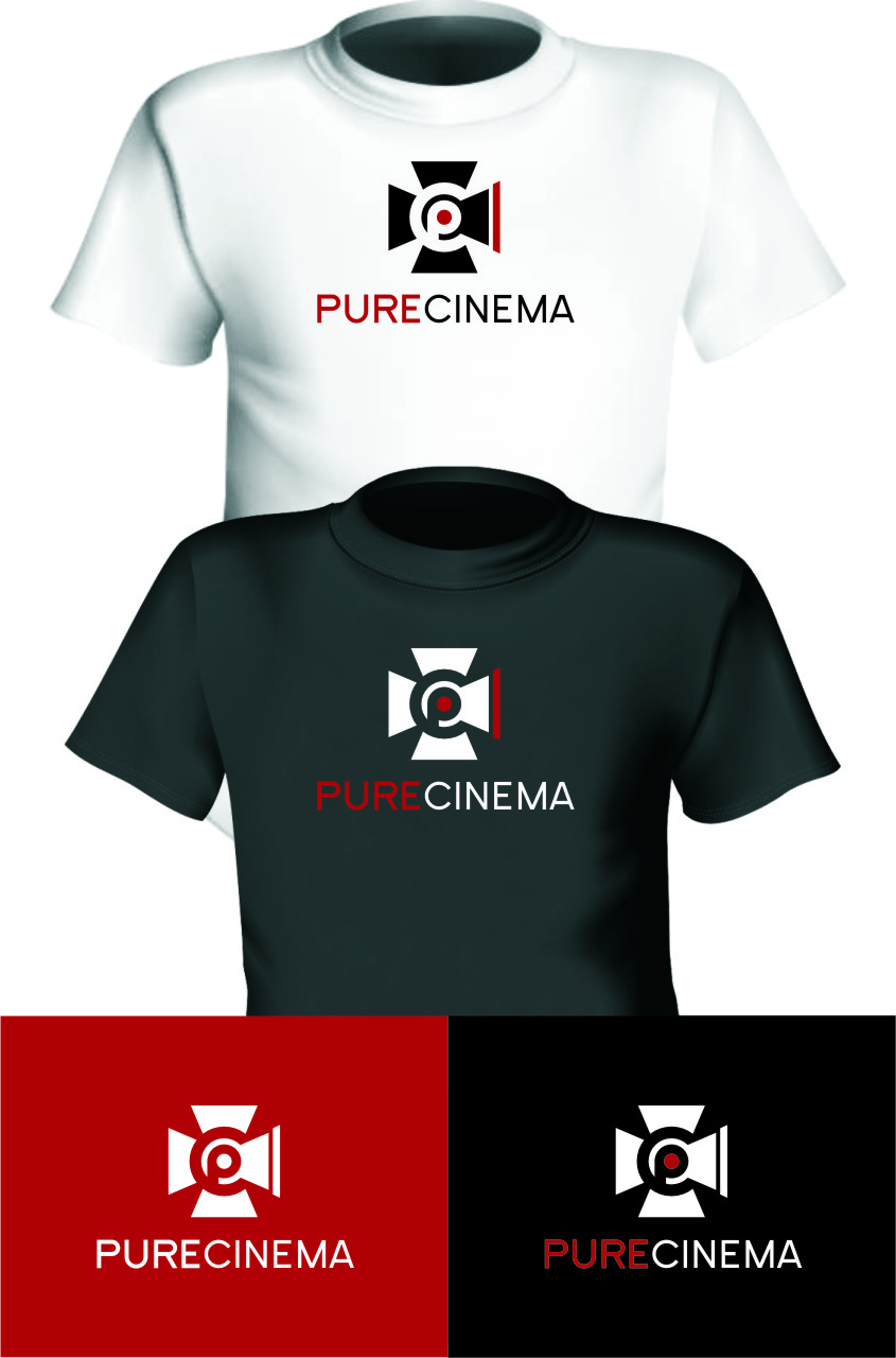 Logo Design by RasYa Muhammad Athaya - Entry No. 118 in the Logo Design Contest Imaginative Logo Design for Pure Cinema.