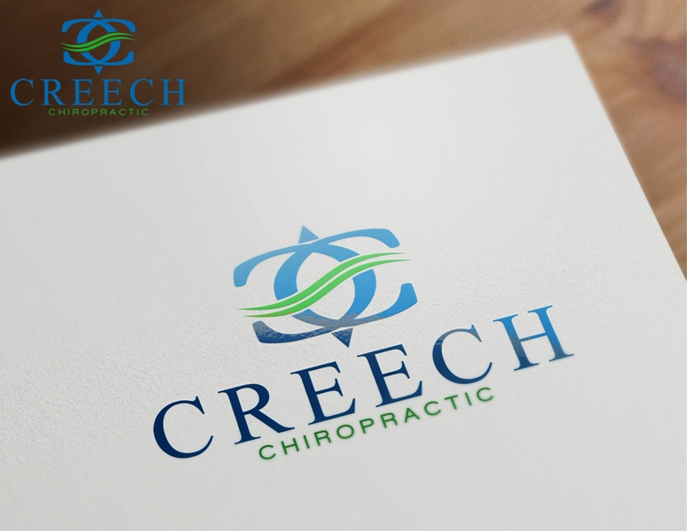Logo Design by Juan_Kata - Entry No. 100 in the Logo Design Contest Imaginative Logo Design for Creech Chiropractic.