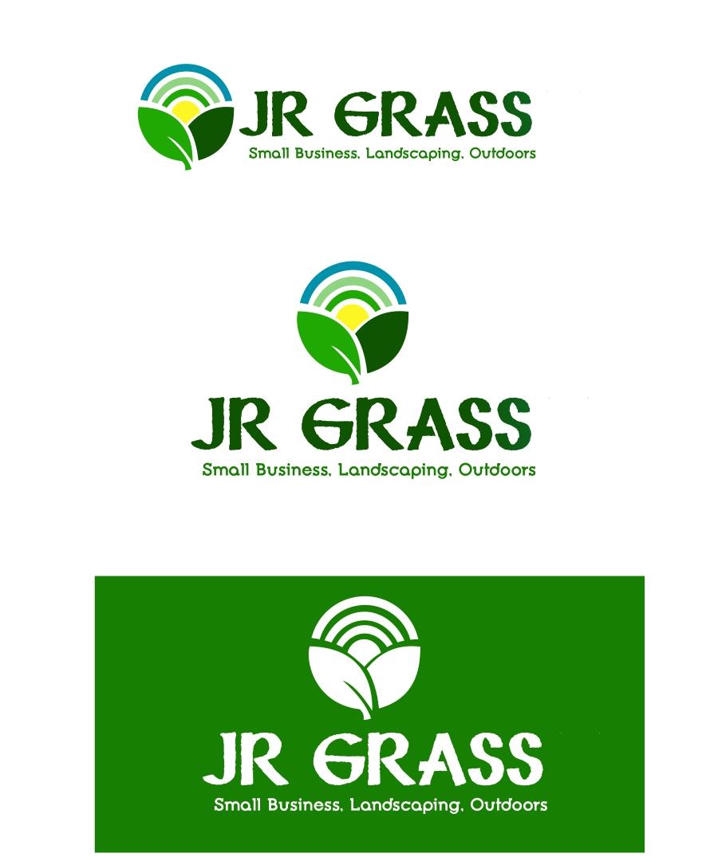 Logo Design by Private User - Entry No. 10 in the Logo Design Contest Inspiring Logo Design for JR Grass.