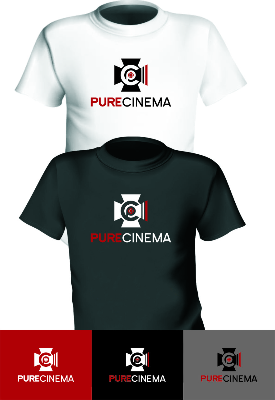 Logo Design by Ngepet_art - Entry No. 121 in the Logo Design Contest Imaginative Logo Design for Pure Cinema.
