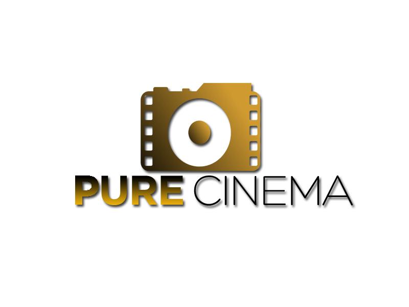 Logo Design by Tenstar Design - Entry No. 124 in the Logo Design Contest Imaginative Logo Design for Pure Cinema.