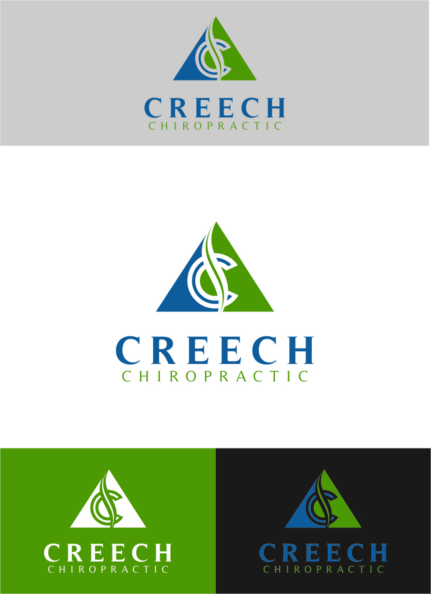 Logo Design by RasYa Muhammad Athaya - Entry No. 103 in the Logo Design Contest Imaginative Logo Design for Creech Chiropractic.