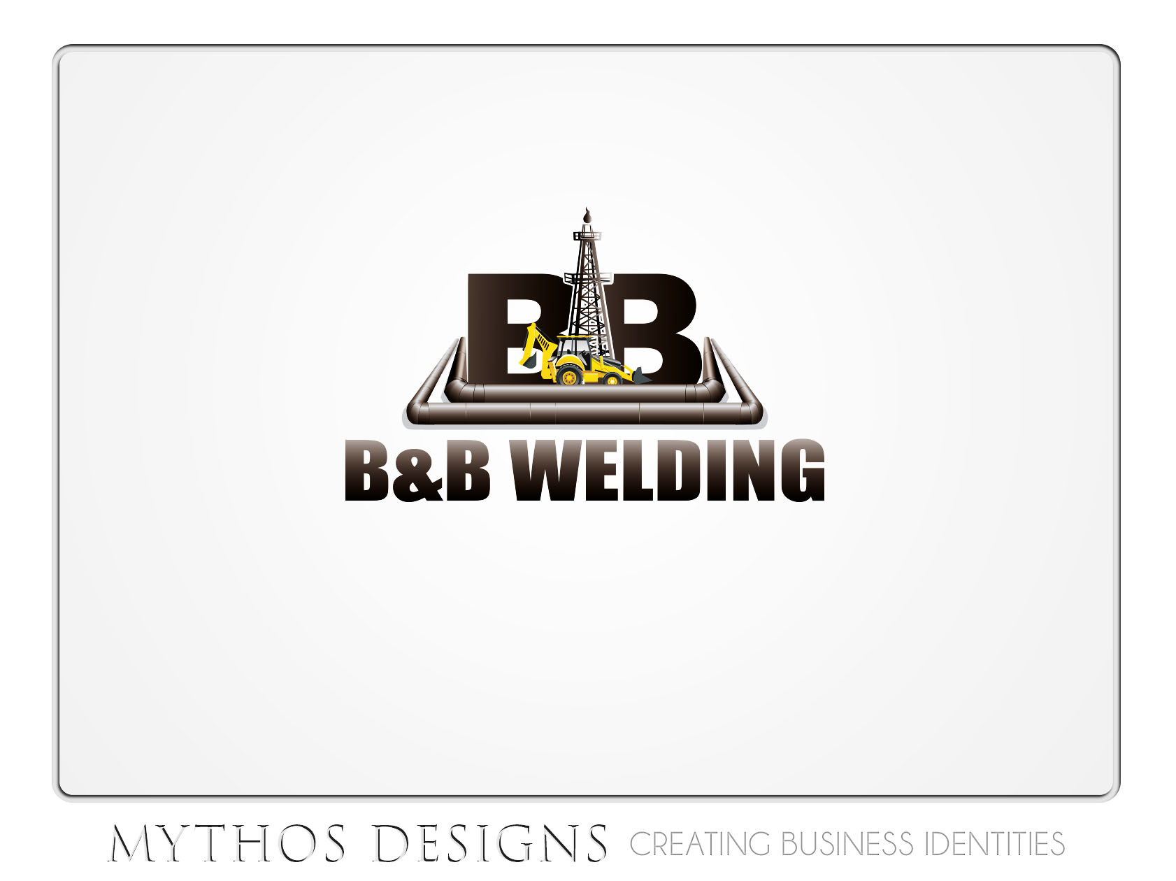 Logo Design by Mythos Designs - Entry No. 37 in the Logo Design Contest Fun Logo Design for B&B Welding Inc..