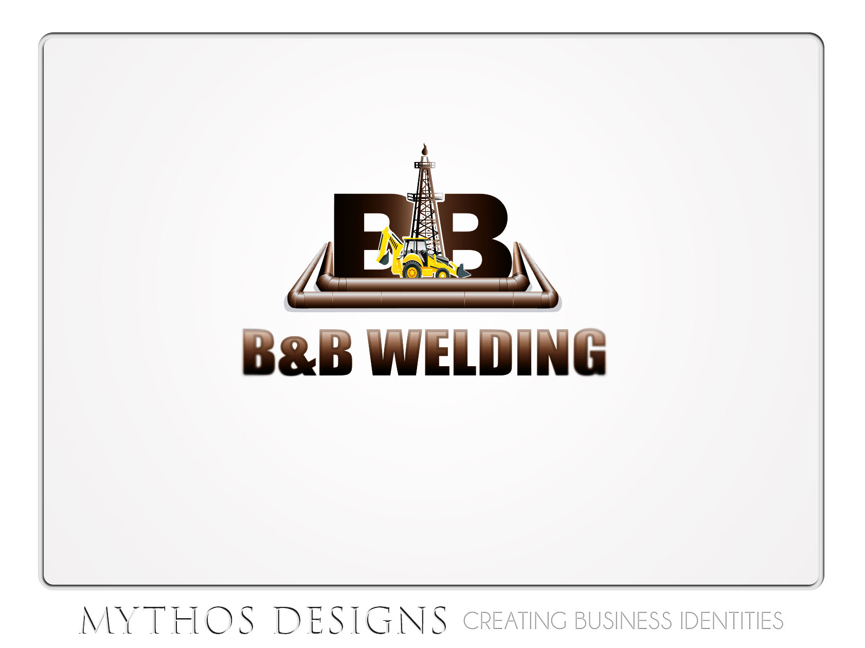 Logo Design by Mythos Designs - Entry No. 38 in the Logo Design Contest Fun Logo Design for B&B Welding Inc..