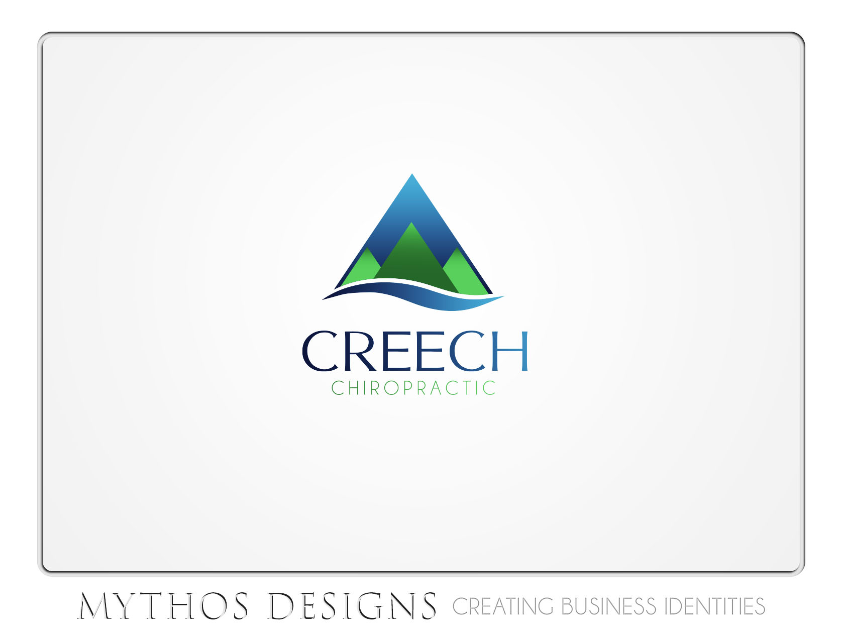 Logo Design by Mythos Designs - Entry No. 104 in the Logo Design Contest Imaginative Logo Design for Creech Chiropractic.