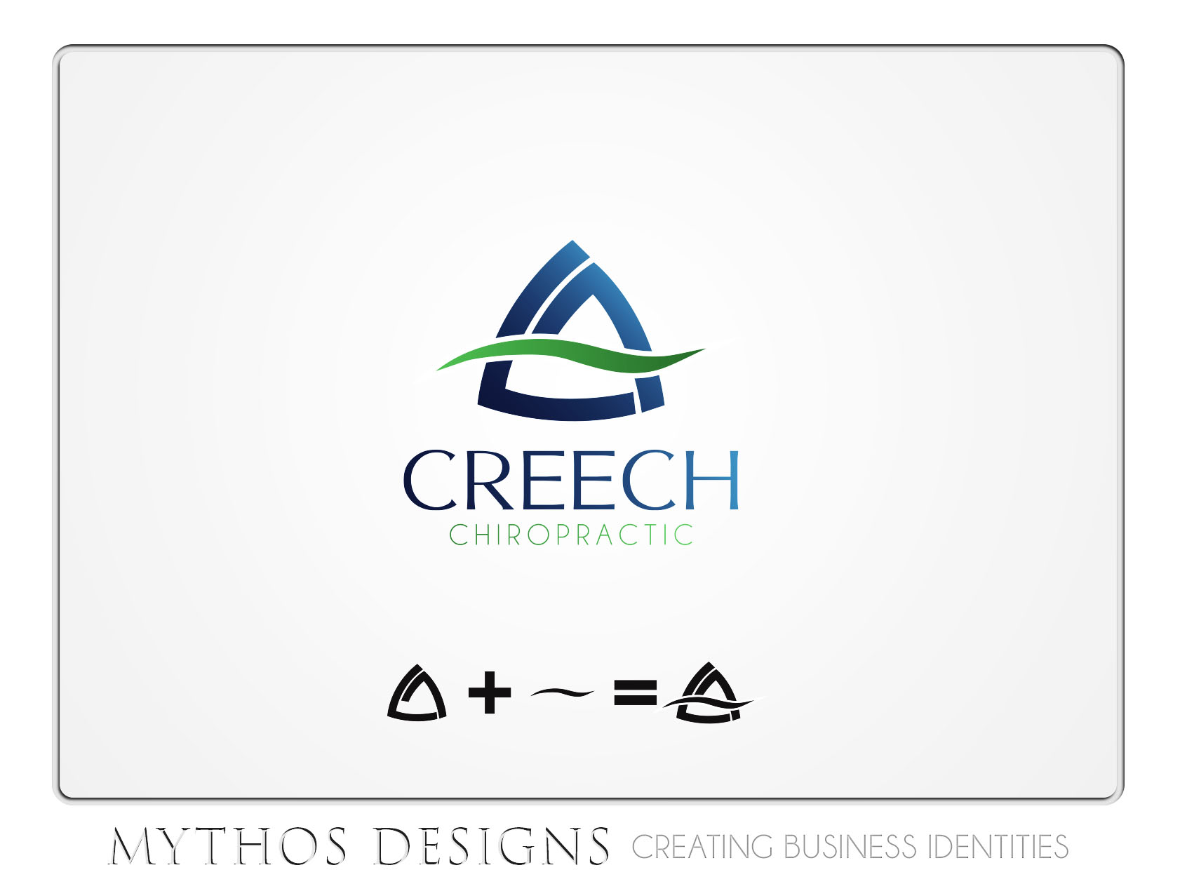 Logo Design by Mythos Designs - Entry No. 105 in the Logo Design Contest Imaginative Logo Design for Creech Chiropractic.
