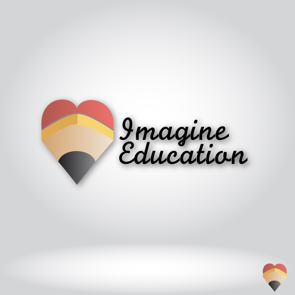 Logo Design by dottDesign - Entry No. 132 in the Logo Design Contest Imagine Education.