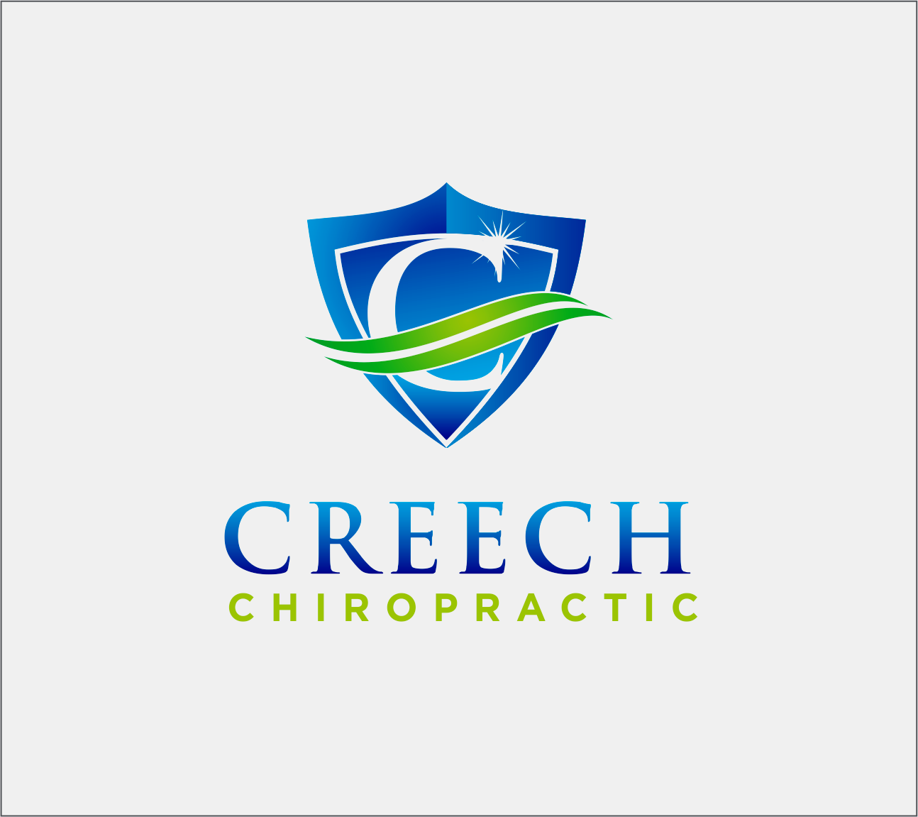 Logo Design by Armada Jamaluddin - Entry No. 107 in the Logo Design Contest Imaginative Logo Design for Creech Chiropractic.