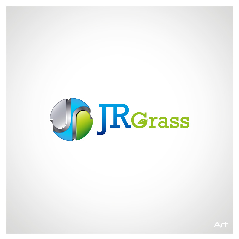 Logo Design by Puspita Wahyuni - Entry No. 14 in the Logo Design Contest Inspiring Logo Design for JR Grass.