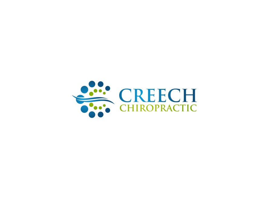 Logo Design by untung - Entry No. 108 in the Logo Design Contest Imaginative Logo Design for Creech Chiropractic.