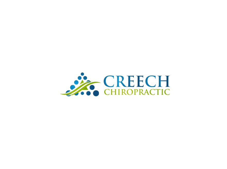 Logo Design by untung - Entry No. 109 in the Logo Design Contest Imaginative Logo Design for Creech Chiropractic.