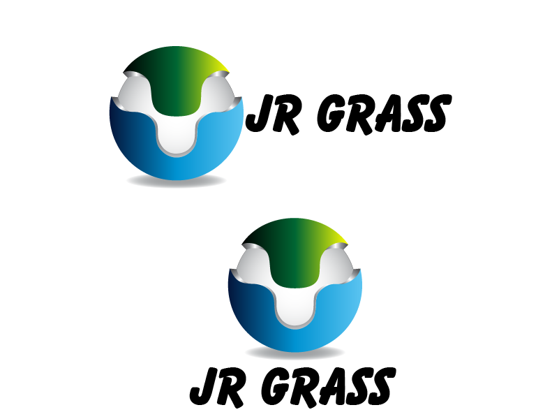 Logo Design by Private User - Entry No. 15 in the Logo Design Contest Inspiring Logo Design for JR Grass.