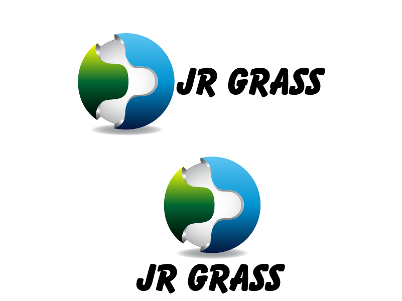 Logo Design by Private User - Entry No. 16 in the Logo Design Contest Inspiring Logo Design for JR Grass.