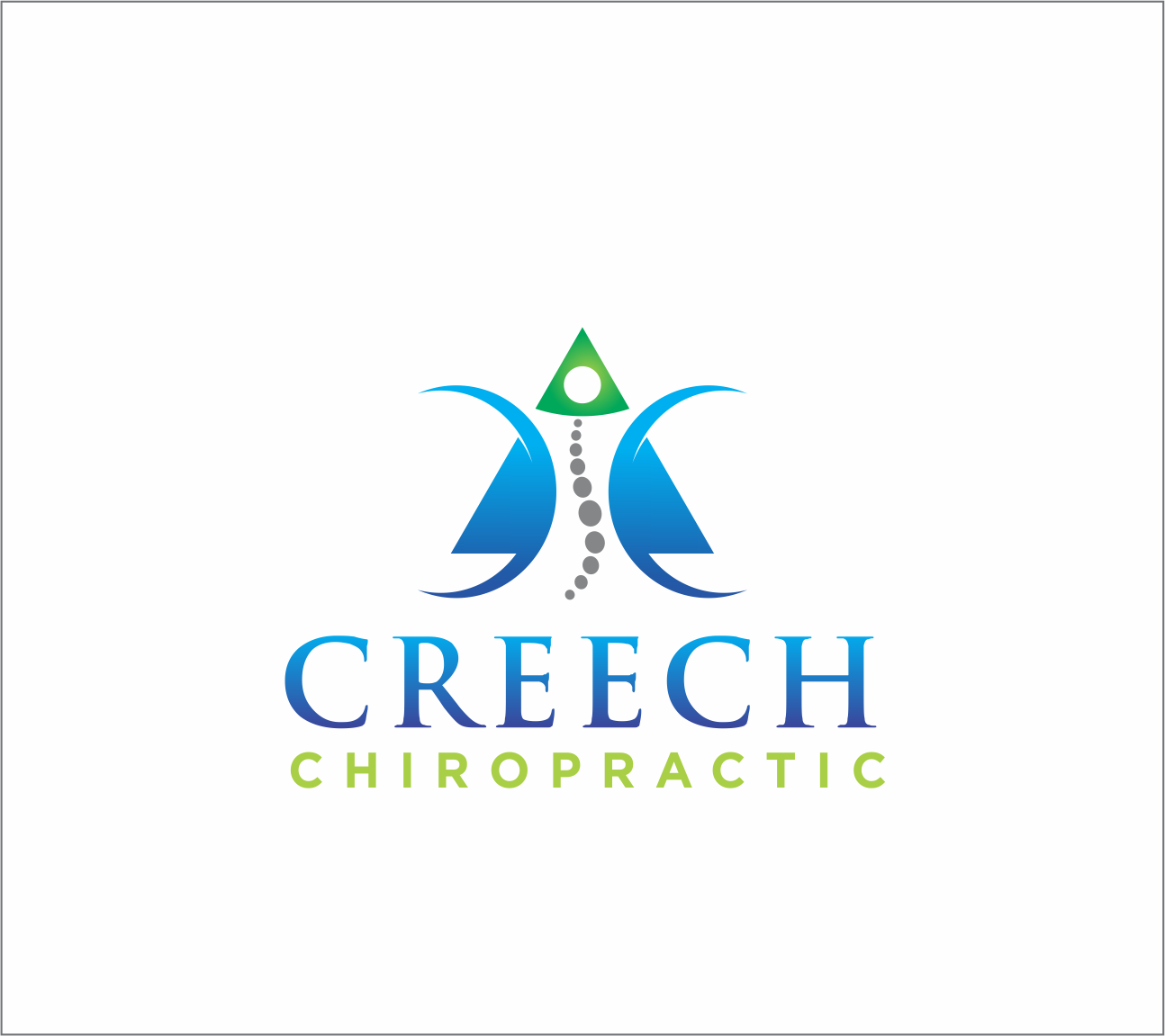 Logo Design by Armada Jamaluddin - Entry No. 110 in the Logo Design Contest Imaginative Logo Design for Creech Chiropractic.