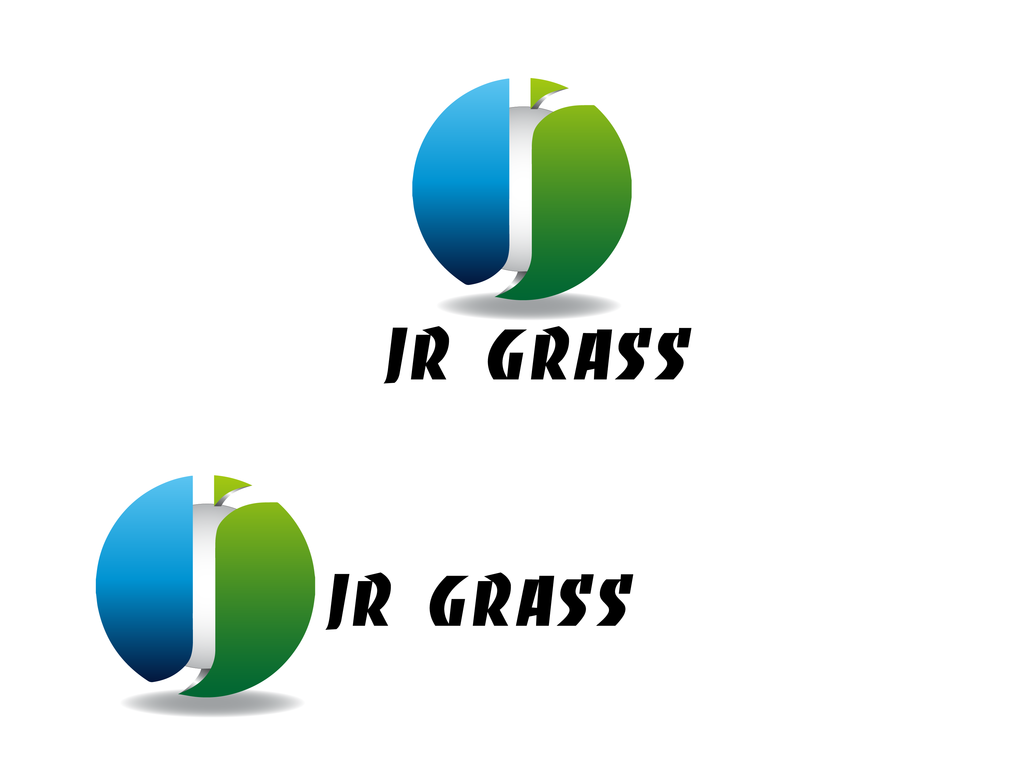 Logo Design by Private User - Entry No. 19 in the Logo Design Contest Inspiring Logo Design for JR Grass.