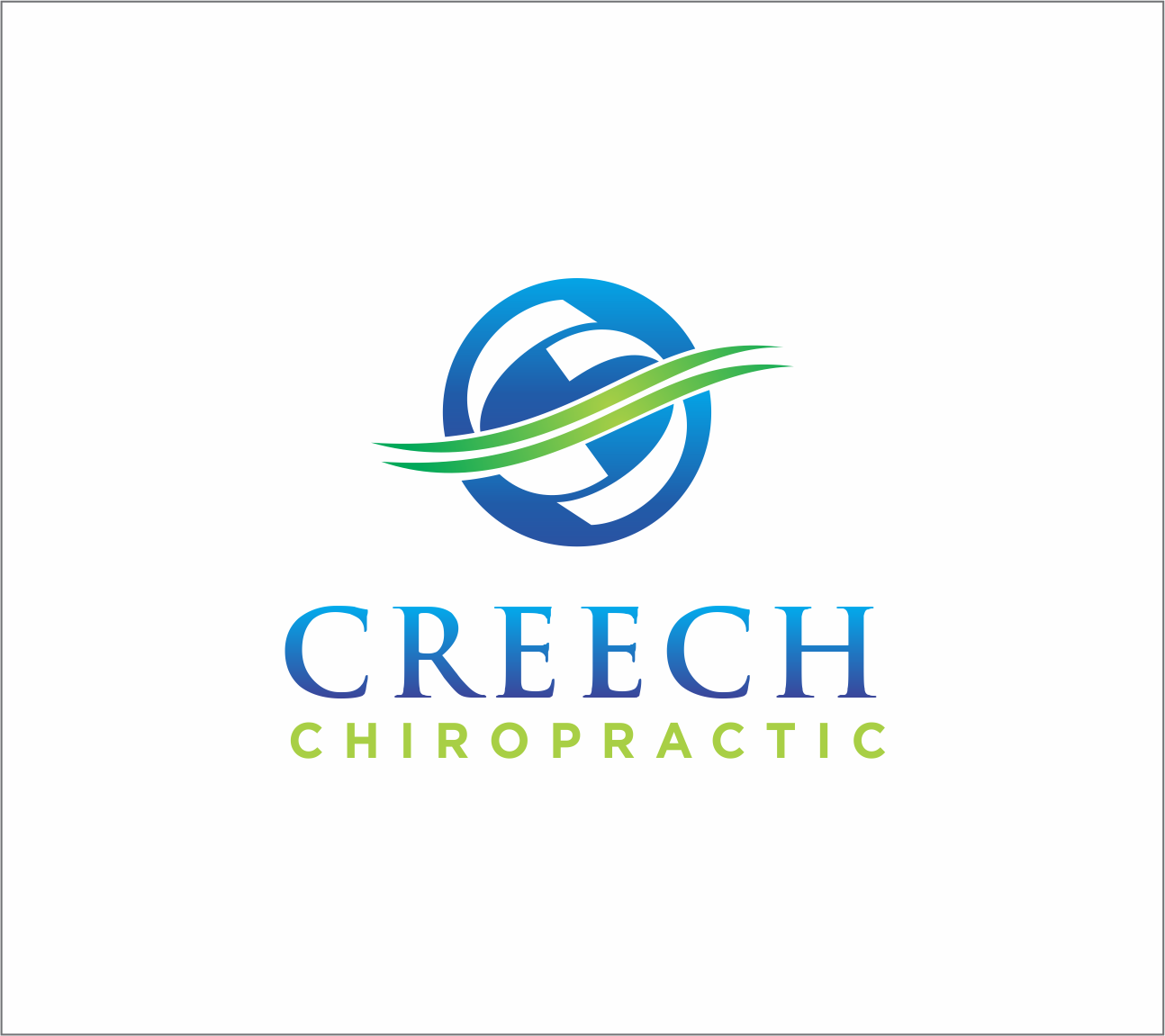 Logo Design by Armada Jamaluddin - Entry No. 111 in the Logo Design Contest Imaginative Logo Design for Creech Chiropractic.