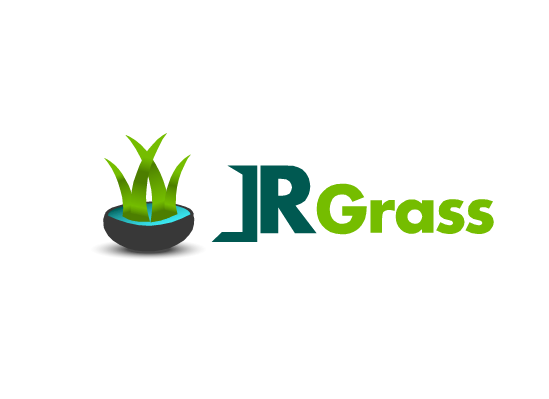 Logo Design by Ismail Adhi Wibowo - Entry No. 20 in the Logo Design Contest Inspiring Logo Design for JR Grass.