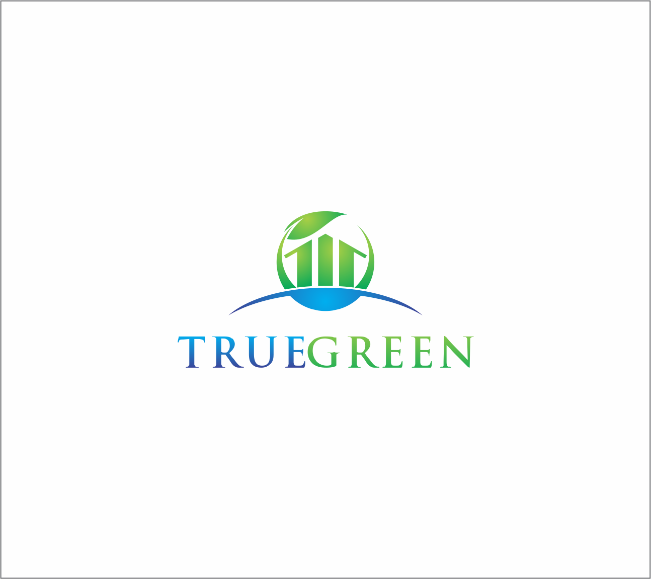 Logo Design by Armada Jamaluddin - Entry No. 51 in the Logo Design Contest Fun Logo Design for TRUE GREEN.