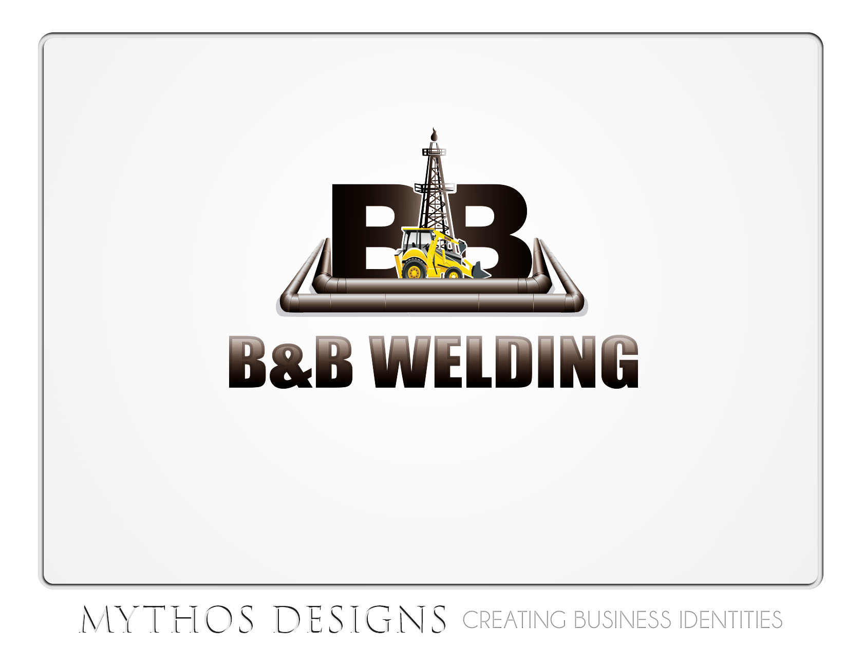 Logo Design by Mythos Designs - Entry No. 41 in the Logo Design Contest Fun Logo Design for B&B Welding Inc..