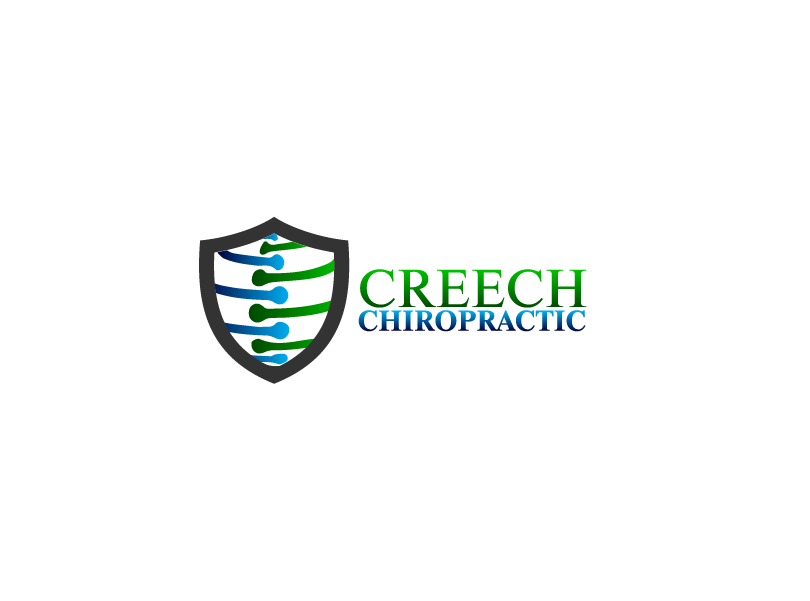 Logo Design by Private User - Entry No. 112 in the Logo Design Contest Imaginative Logo Design for Creech Chiropractic.