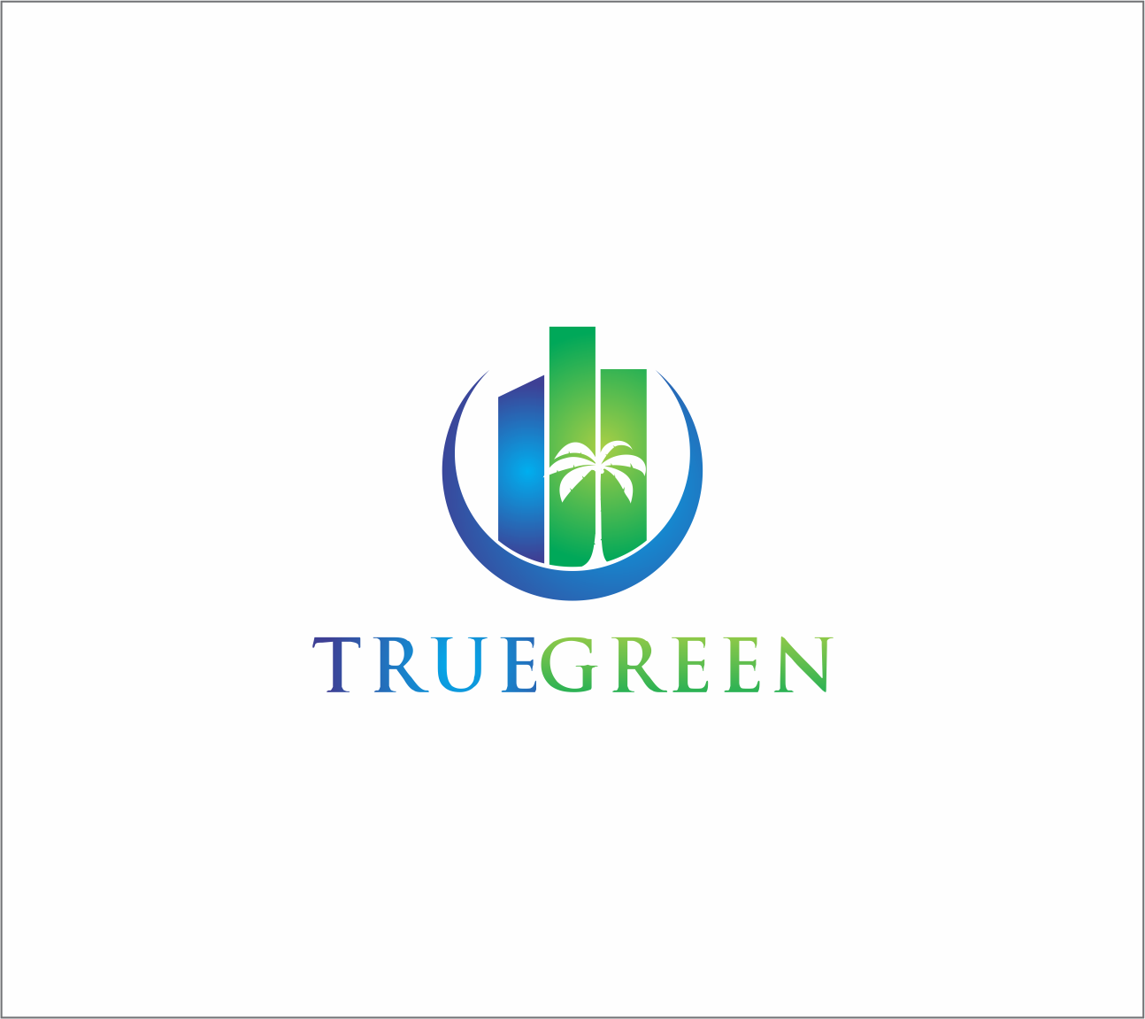 Logo Design by Armada Jamaluddin - Entry No. 53 in the Logo Design Contest Fun Logo Design for TRUE GREEN.