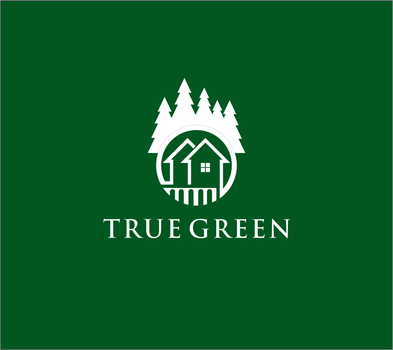 Logo Design by Armada Jamaluddin - Entry No. 54 in the Logo Design Contest Fun Logo Design for TRUE GREEN.